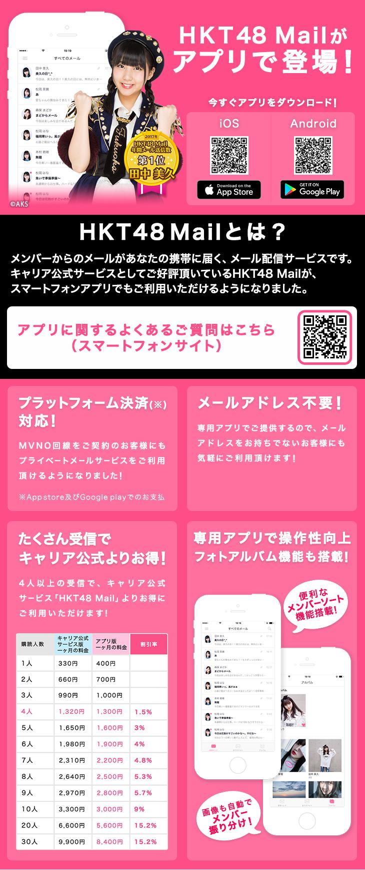 HKT48 Mailアプリ